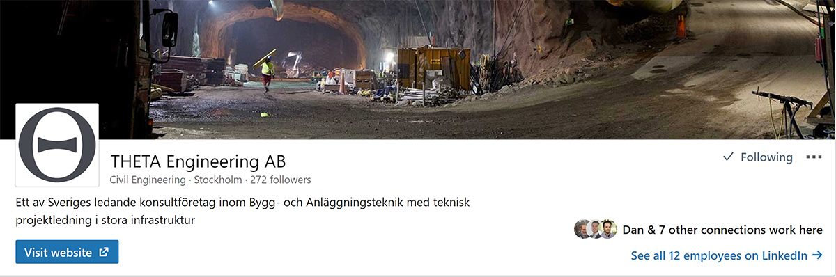THETA engineering på Linkedin