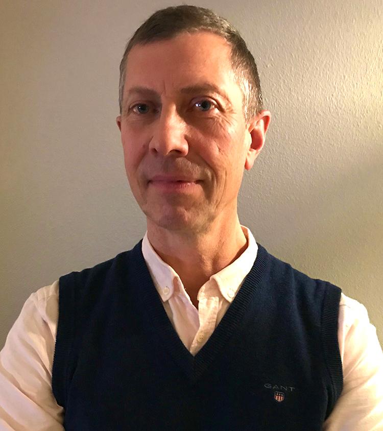 Projektchef hos THETA Christer Tronje